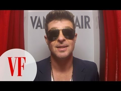 Up close and personal with Robin Thicke