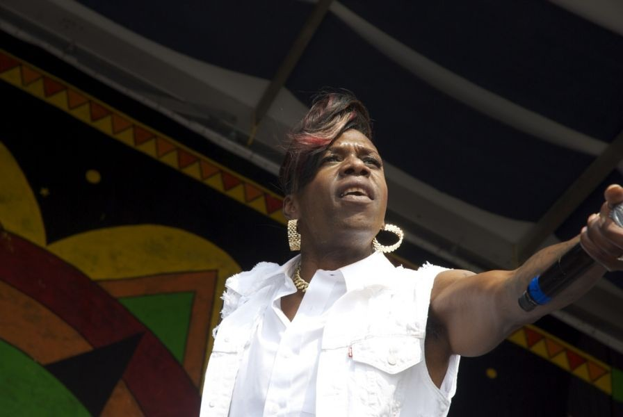 Big Freedia bounces into the Jazz Fest stratosphere