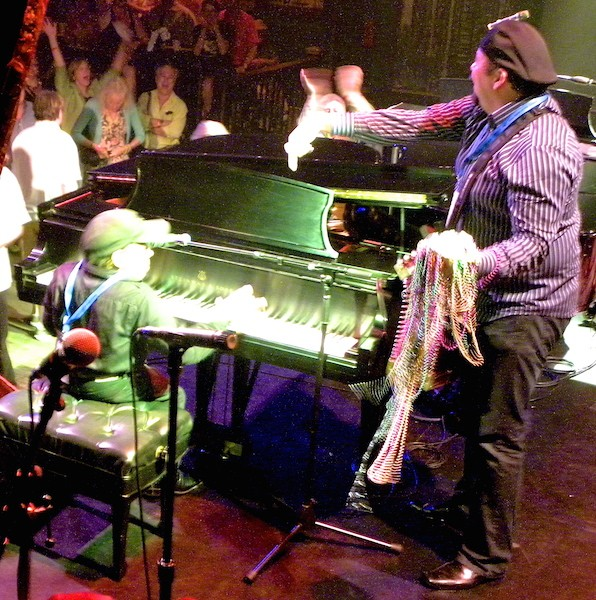 Jazz Royalty Ellis Marsalis Presides Over WWOZ Piano Night