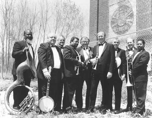 The indomitable Louisiana Repertory Jazz Ensemble performing at Jazz Fest