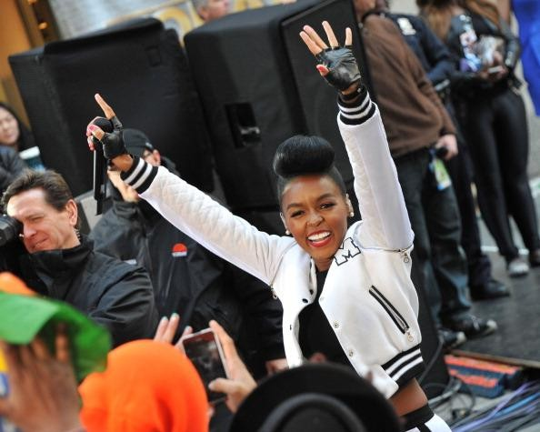 Janelle Monae shakes it like a Polaroid picture at Outkast's CounterPoint set