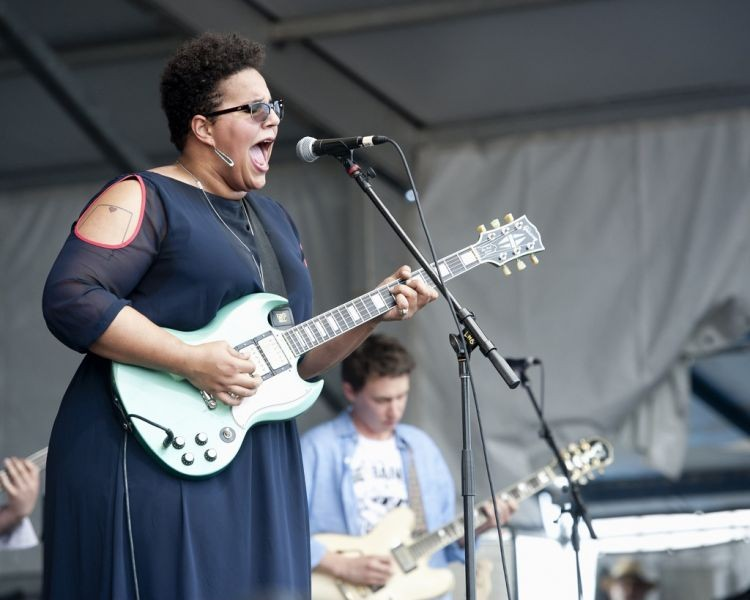 Alabama Shakes' down home roots rock steals the show on Jazz Fest Friday