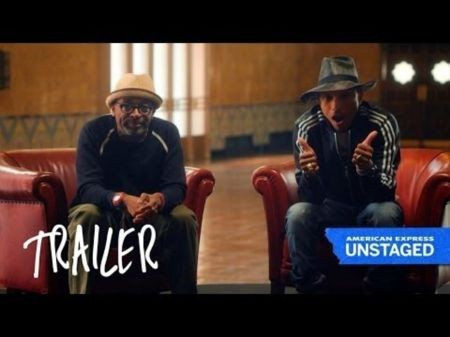 Pharrell, Spike Lee announce 'Unstaged' performance at Apollo Theater