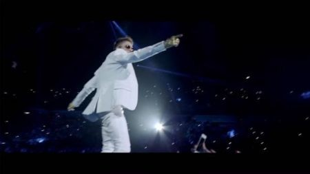 Justin Bieber is, above all, a performer