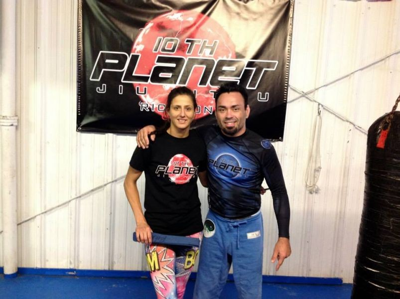 Gina Begley hopes to catch RFA's attention with win over Marissa Smith