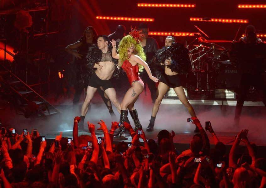 Lady Gaga brings the Artpop Ball to the Staples Center