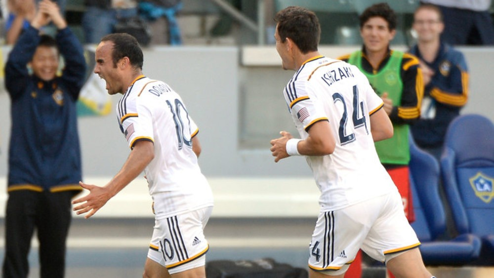 LA Galaxy's Landon Donovan achieves MLS milestone