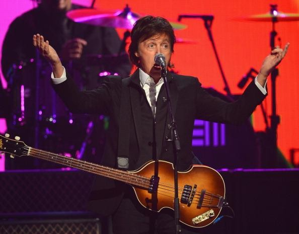 Paul McCartney premieres three 'New' songs at iHeartRadio Music Festival