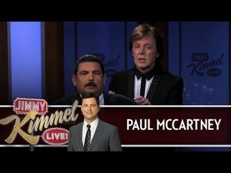'Breakfast With the Beatles' host goes backstage for McCartney-Kimmel TV show