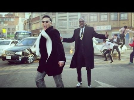 PSY gets drunk with Snoop Dogg in wild 'Hangover' music video