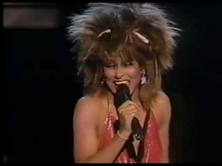 Tina Turner overcomes a life of hardship to become a star