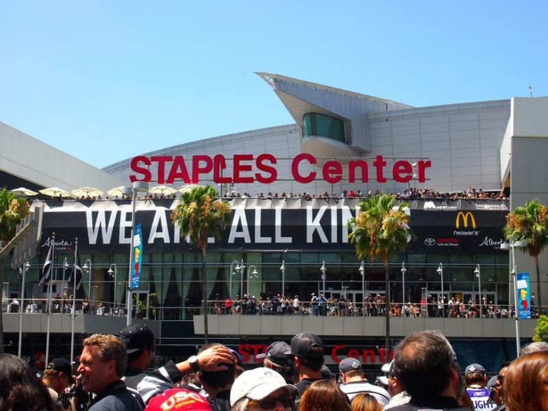 """We are all Kings"" at STAPLES Center"
