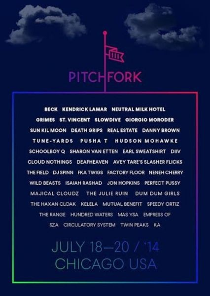 Pitchfork Music Festival set times released
