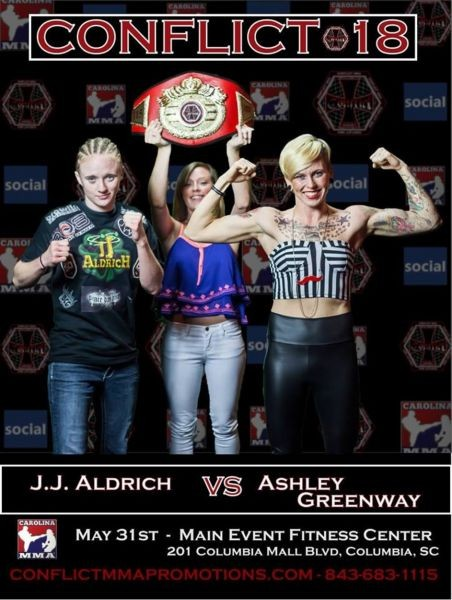 Exclusive interview with Invicta FC strawweight Ashley 'Dollface' Greenway