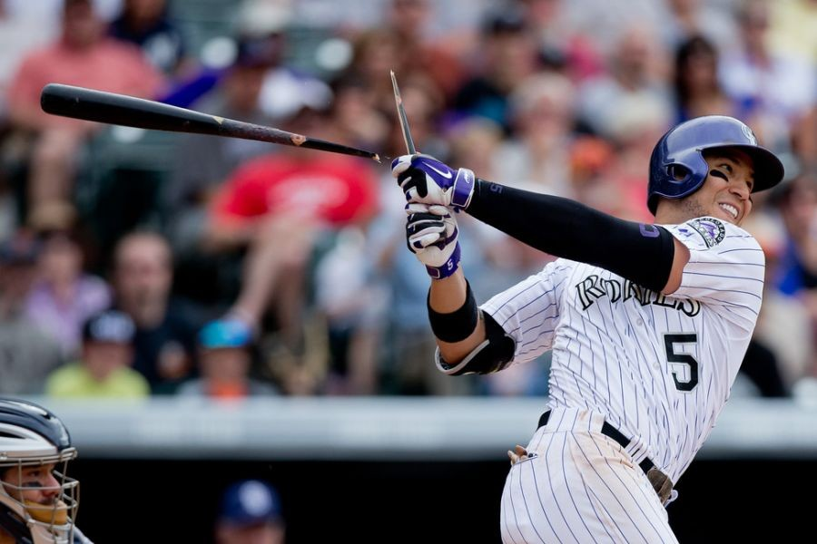 Carlos Gonzalez moved to 15-day DL, joins Nolan Arenado
