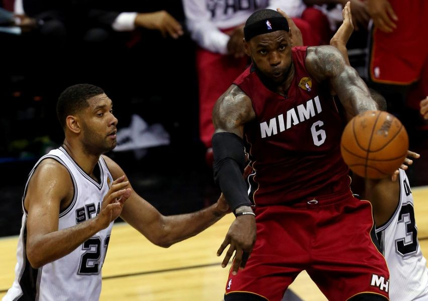 2014 NBA Finals: Spurs' Game 1 win over the Heat should have an asterisk