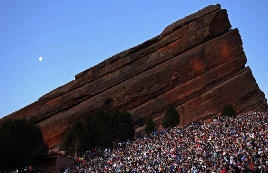 Red Rocks Amphitheatre is entertainment under the stars