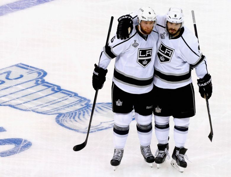 It has been quite a journey for Kings defenseman Jake Muzzin