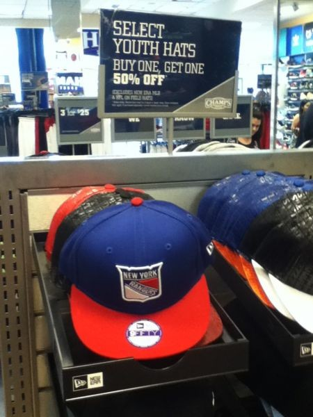 Retailers scramble to unload New York Rangers Stanley Cup playoffs apparel