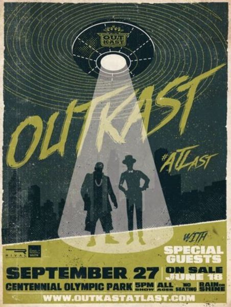 Outkast announce 'ATLast Tour'