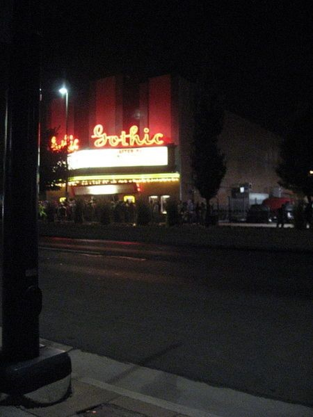 Denver's Gothic Theater is a mile high institution