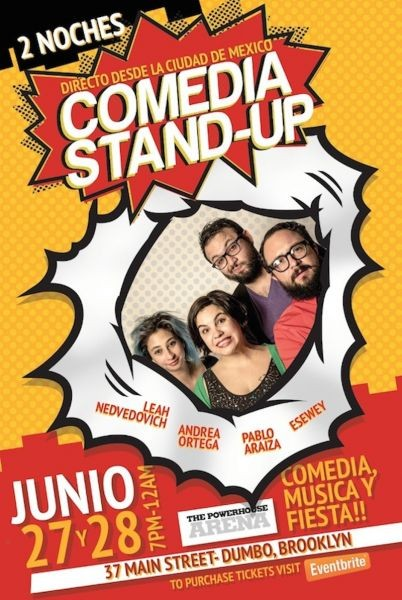 Stand-up comedy in Spanish heads to Brooklyn
