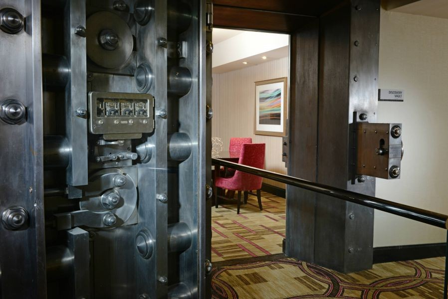 All that glitters used to be filled with gold: The hotel that once was a bank