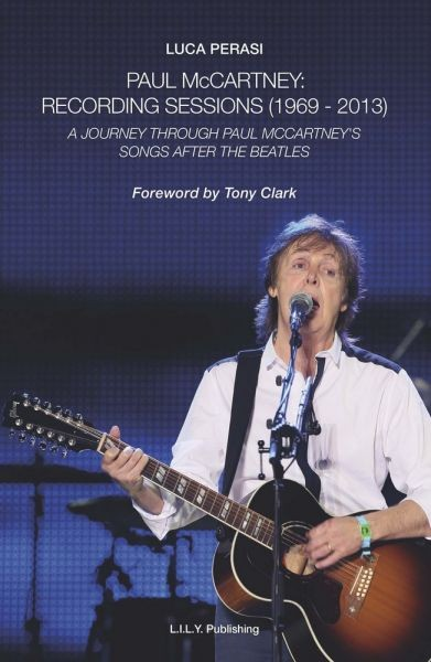 Book with full details on McCartney's solo recording sessions just published