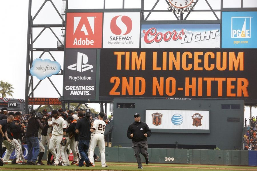 Lincecum's remarkable inconsistency continues with no-hitter against Padres