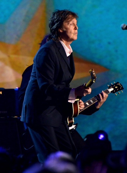 McCartney breaks out 'NEW' songs for first tour soundcheck