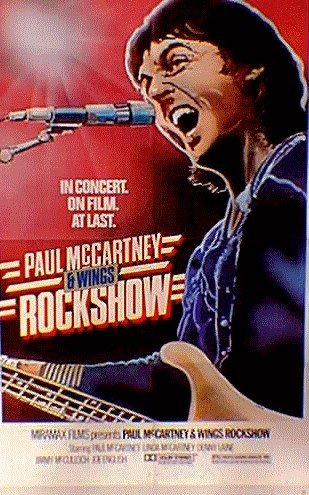 McCartney's vintage 'Rock Show' film to play in theaters ahead of DVD release