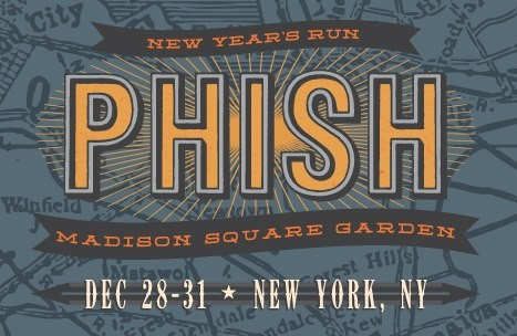 Phish announces new year 39 s eve concerts at madison square - Phish madison square garden tickets ...