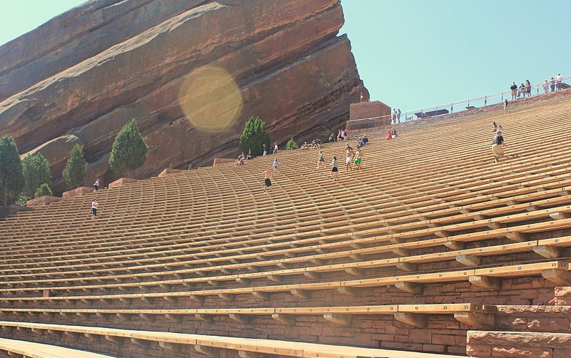 Red Rocks Amphitheater: Fitness at 6,400 feet above sea level