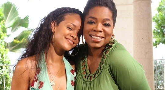 Oprah says Rihanna was the 'most surprising' interview of the year
