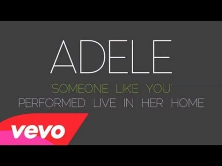 Adele's 'Someone Like You' tops the charts