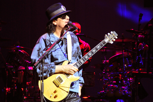 Photo gallery of Carlos Santana performing at House of Blues Las Vegas