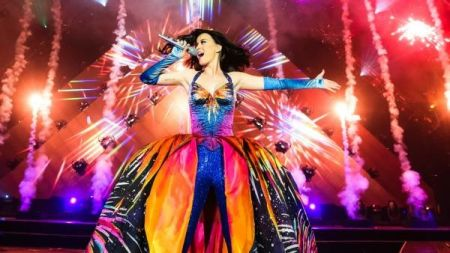 Katy Perry's Prismatic tour arrives at Madison Square Garden