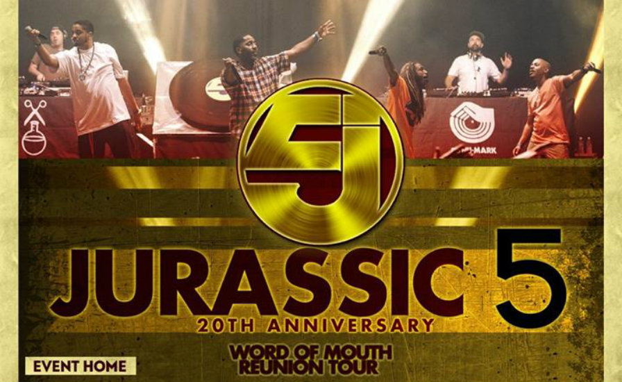 Jurassic 5, Dilated Peoples and Beat Junkies US tour dates and locales