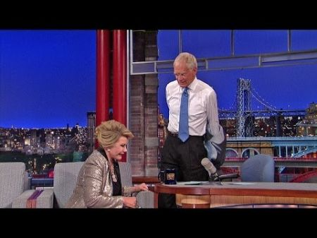 David Letterman walks out on Joan Rivers during interview