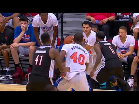 New York Knicks escape with 71-69 victory over Trail Blazers in Summer League