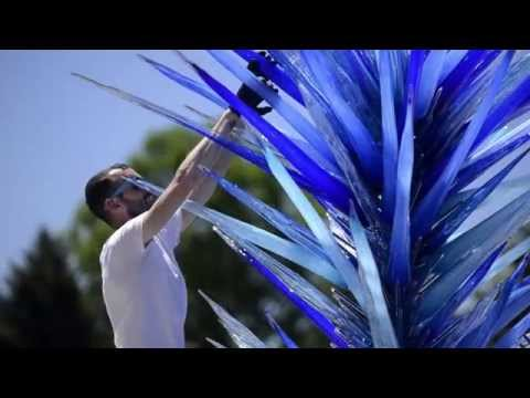 Dale Chihuly Revolutionary Glass Artist At The Denver Botanic