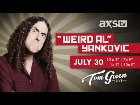 'Weird Al' Yankovic has a moment on Tom Green Live