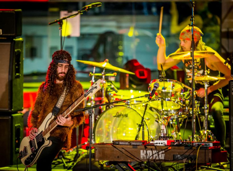 Wolfmother performs at Boulevard Pool at The Cosmopolitan of Las Vegas