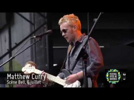 Matthew Curry: Soulful blues ignited by powerful guitar and vocals