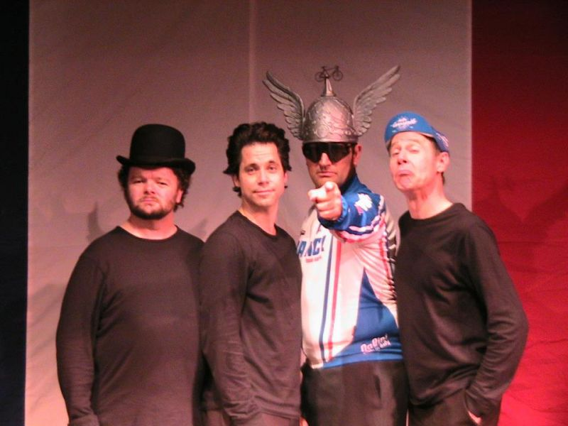 'The Bicycle Men' spin into the Garner Galleria Theater