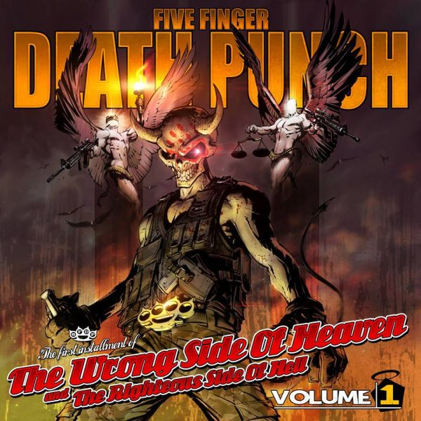 Five Finger Death Punch delivers solid metal masterpiece with new album
