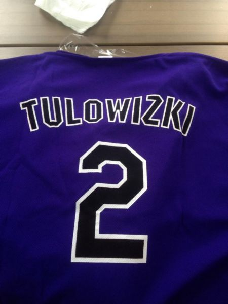 Troy Tulowitzki spotted at New York Yankees game following jersey giveaway gaffe