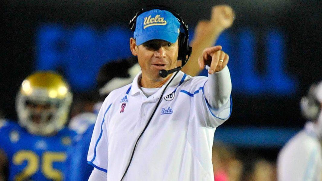 UCLA Coach Jim Mora continues the Bruin revolution