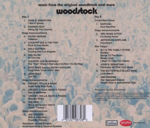 'Woodstock' soundtrack album featuring Santana makes 2014 Grammy Hall of Fame