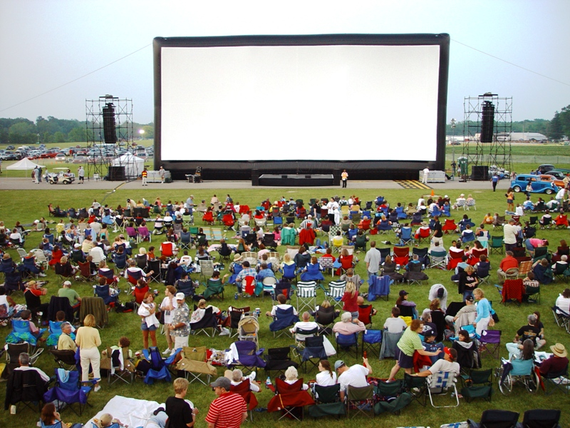 Summer film series: Seven fun spots to catch an outdoor flick